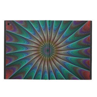 孔雀のフラクタル POWIS iPad AIR 2 ケース