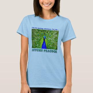 孔雀のワイシャツ Tシャツ
