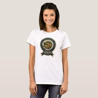 孔雀の低音のロゴ Tシャツ