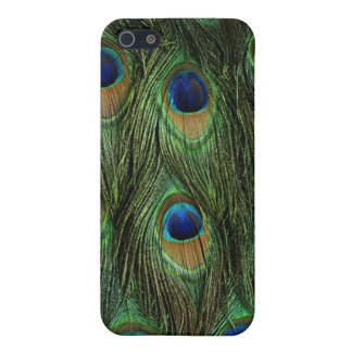 孔雀の体の毛皮の羽iPhone4の箱カバーiphone iPhone 5 Case