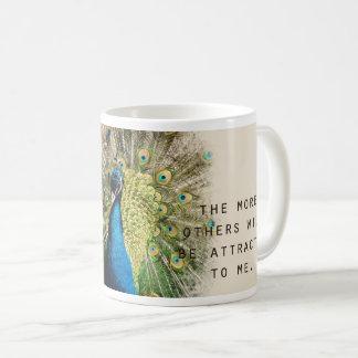 孔雀の断言のマグ コーヒーマグカップ