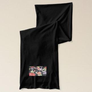 孔雀の東洋のデザインのスカーフ スカーフ