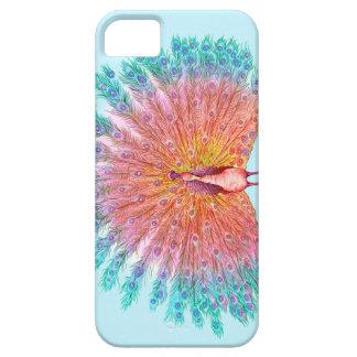 孔雀の異なったIphone5例 iPhone SE/5/5s ケース
