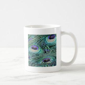 孔雀の目 コーヒーマグカップ