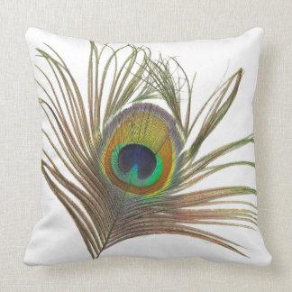 孔雀の羽の装飾用クッションI クッション