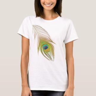 孔雀の羽のTシャツ Tシャツ