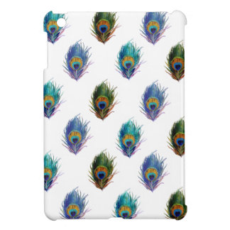 孔雀の羽パターン iPad MINIケース