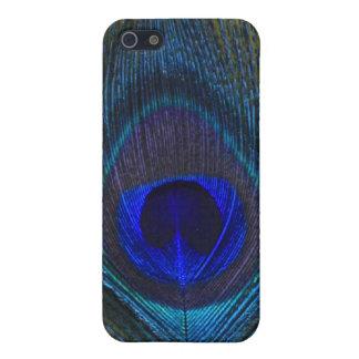 孔雀の羽4のIphone 4/4s Speckの場合 iPhone 5 カバー