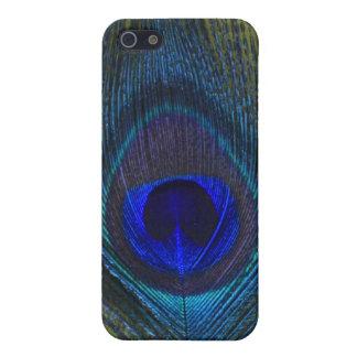 孔雀の羽4のIphone 4/4s Speckの場合 iPhone 5 Cover