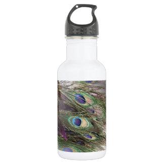 孔雀の羽 ウォーターボトル