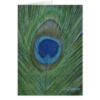 孔雀の羽 カード