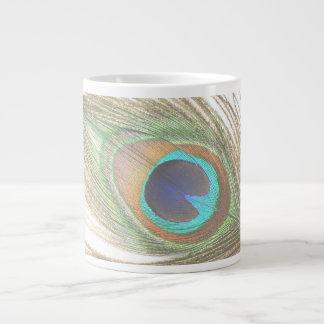 孔雀の羽 ジャンボコーヒーマグカップ