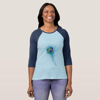 孔雀の羽 Tシャツ