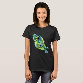 孔雀の羽T-Shrit Tシャツ