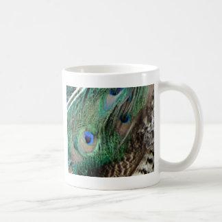 孔雀の翼 コーヒーマグカップ