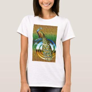 孔雀の色 Tシャツ