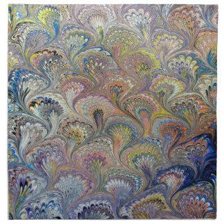 孔雀の花束 ナプキンクロス