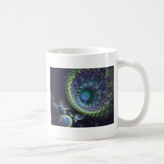 孔雀の螺線形 コーヒーマグカップ