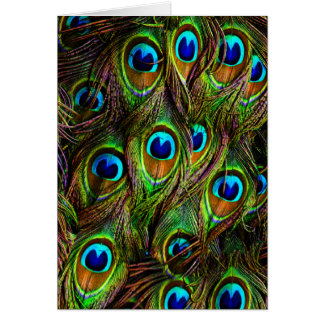 孔雀は侵入に羽をつけます カード