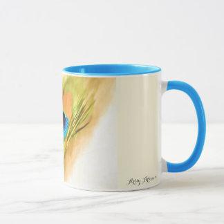 「孔雀羽」のカスタムなマグlk マグカップ
