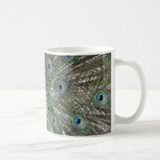 孔雀色 コーヒーマグカップ