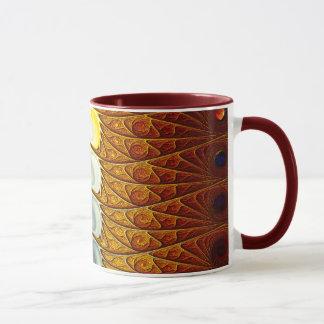 孔雀蝶 マグカップ