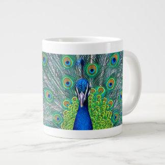 孔雀 ジャンボコーヒーマグカップ