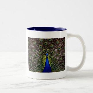 孔雀 ツートーンマグカップ