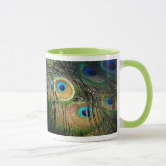 孔雀 マグカップ