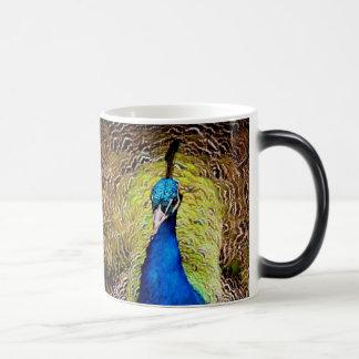 孔雀 モーフィングマグカップ