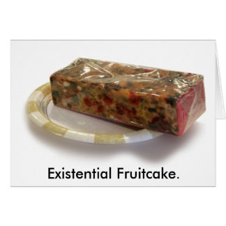 存在的なFruitcake カード