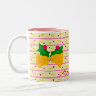 季節の挨拶のマグ ツートーンマグカップ