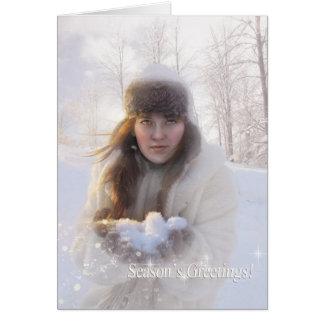 季節の挨拶 カード
