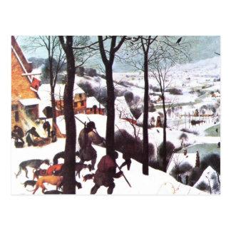 季節の挨拶。 ファインアートのクリスマスの郵便はがき ポストカード