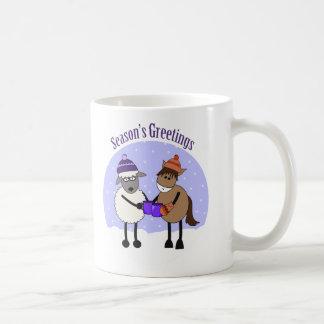 季節の挨拶MIC MAC コーヒーマグカップ