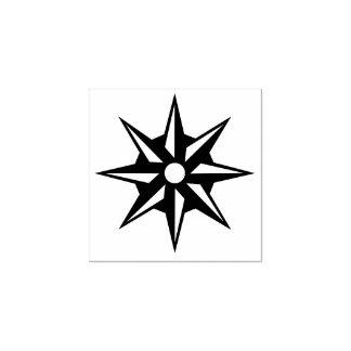 季節的な星の装飾のゴム印 ラバースタンプ