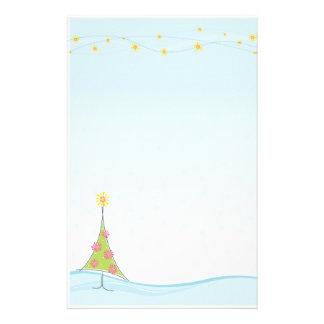 季節的なNOTEPAPER:: お洒落なchristmastree 1 便箋