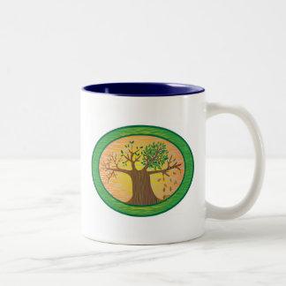 季節 ツートーンマグカップ