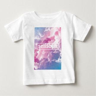 [季節]完全なカバー幼児のTシャツ ベビーTシャツ