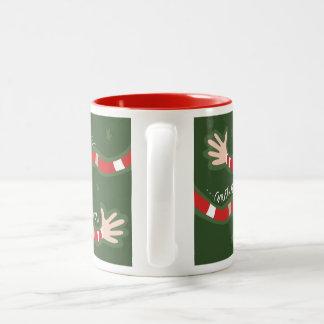 「季節-緑Tis ツートーンマグカップ