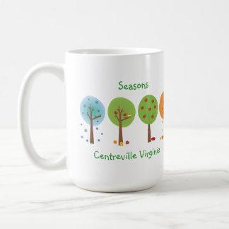 季節- Centrevilleヴァージニア コーヒーマグカップ