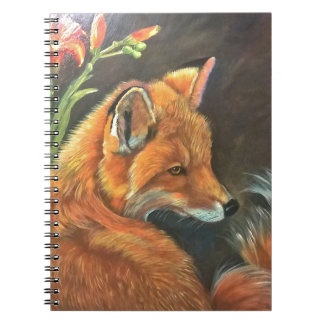孤の景色のペンキの絵画手の芸術の自然 ノートブック