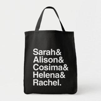 孤児の黒|のアンパーサンドのデザイン トートバッグ