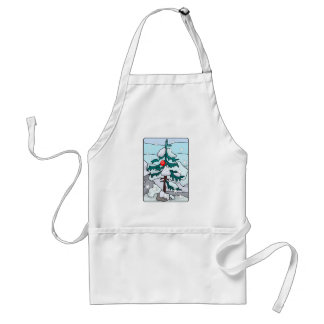 孤独なクリスマスツリー スタンダードエプロン