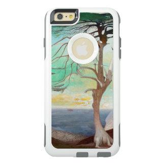 孤独なヒマラヤスギ木の風景画 オッターボックスiPhone 6/6S PLUSケース