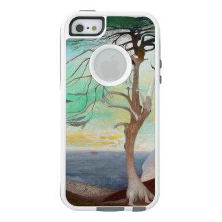 孤独なヒマラヤスギ木の風景画 オッターボックスiPhone SE/5/5s ケース