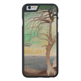 孤独なヒマラヤスギ木の風景画 ケース