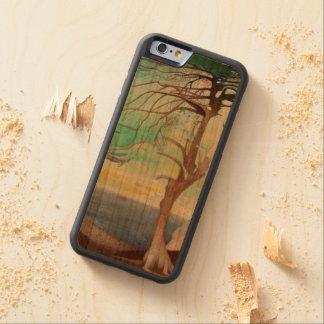 孤独なヒマラヤスギ木の風景画 CarvedチェリーiPhone 6バンパーケース