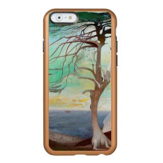 孤独なヒマラヤスギ木の風景画 INCIPIO FEATHER SHINE iPhone 6ケース