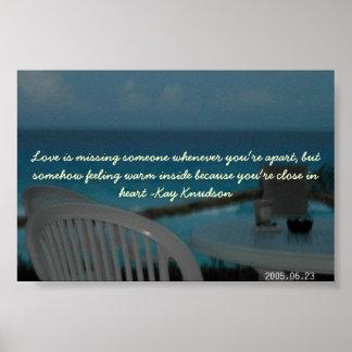 孤独なビーチ ポスター